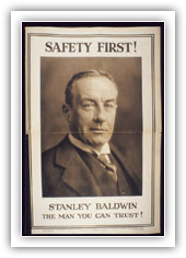 1929 election poster
